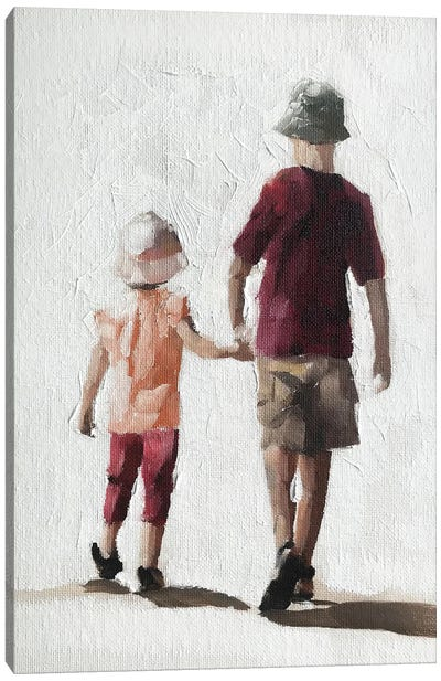 Brother And Sister Canvas Art Print
