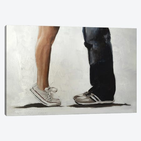 Working Out Canvas Print #JCT39} by James Coates Canvas Art Print