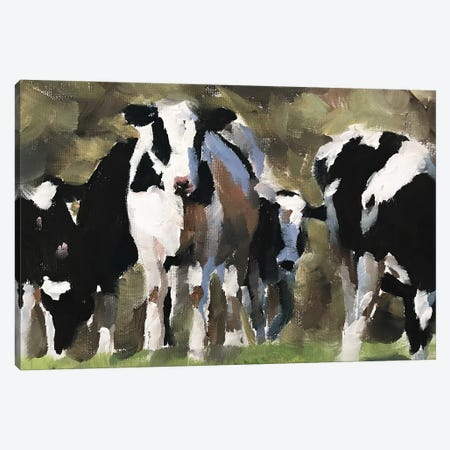 Heard Of Cows Canvas Print #JCT69} by James Coates Canvas Artwork