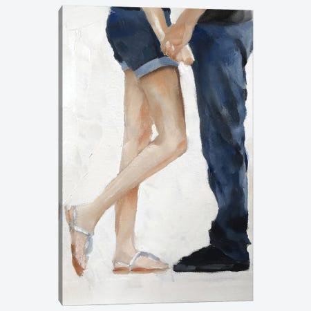 Hello Beautiful Canvas Print #JCT70} by James Coates Art Print