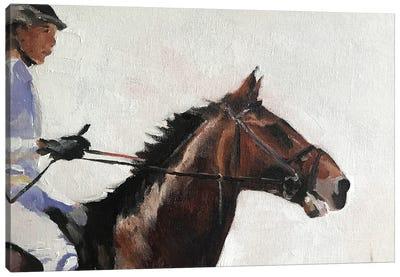 Horse Rider Canvas Art Print