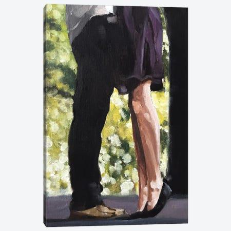 Hugging Canvas Print #JCT76} by James Coates Canvas Art