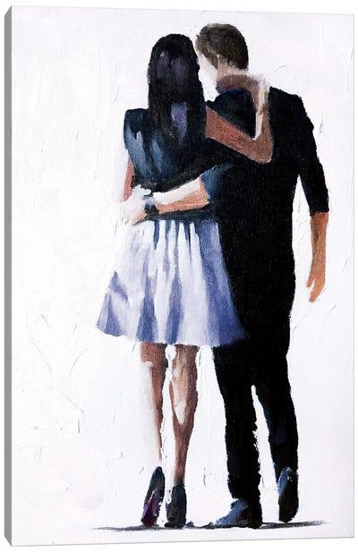 Keep Me Close Canvas Art Print