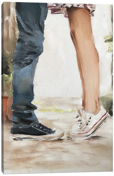 Keeping Me On My Toes Canvas Art Print
