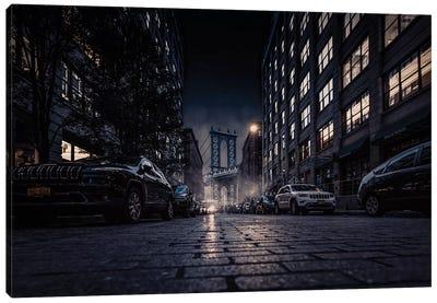 Gotham - Night'S Colors Canvas Art Print