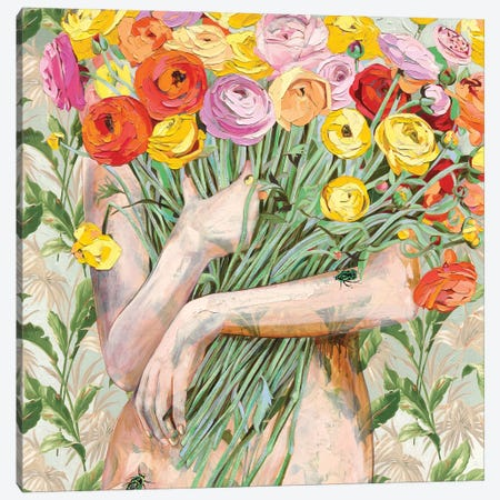 I Love You Like Canvas Print #JCW10} by Jessica Watts Canvas Artwork