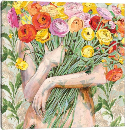 I Love You Like Canvas Art Print