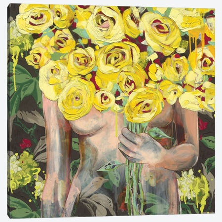I'm Sure She Winked At Me Canvas Print #JCW11} by Jessica Watts Canvas Wall Art