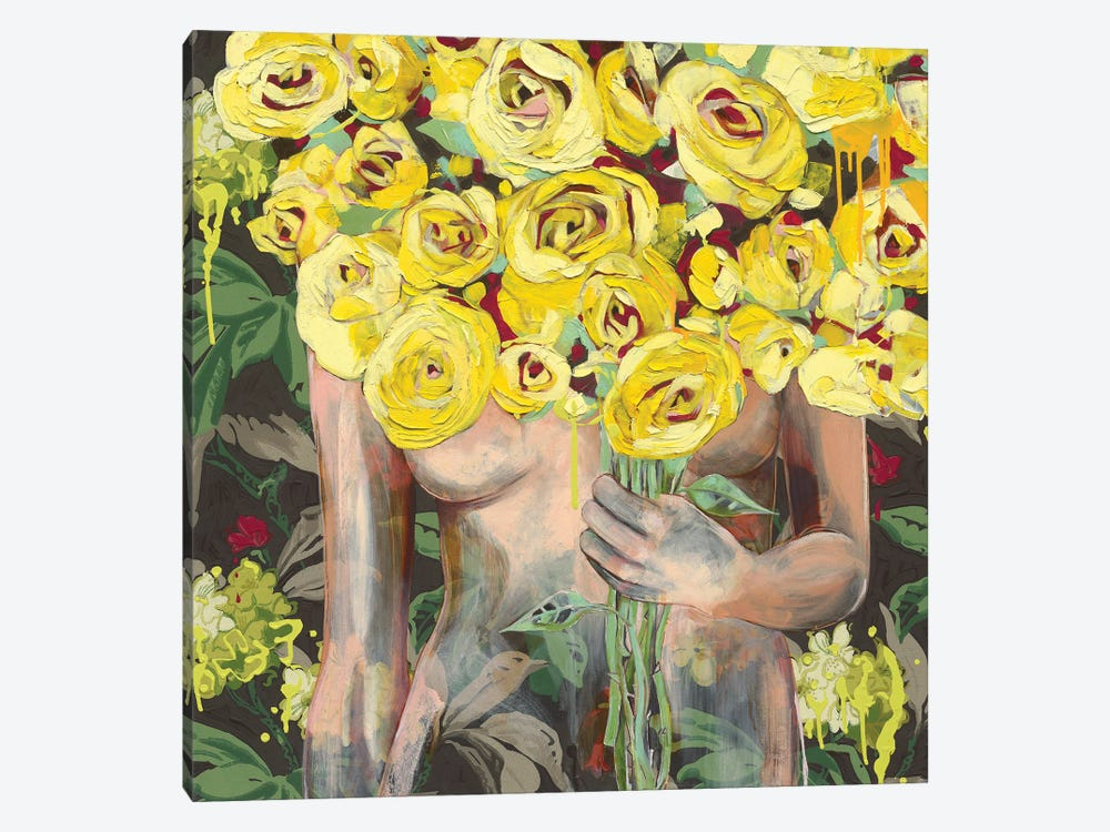 I'm Sure She Winked At Me by Jessica Watts 1-piece Art Print