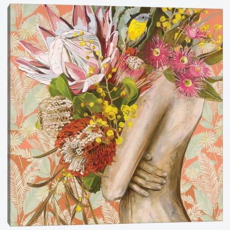 It's Peachy Canvas Print #JCW13} by Jessica Watts Canvas Wall Art