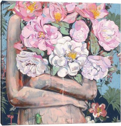 Karma Camellia Canvas Art Print