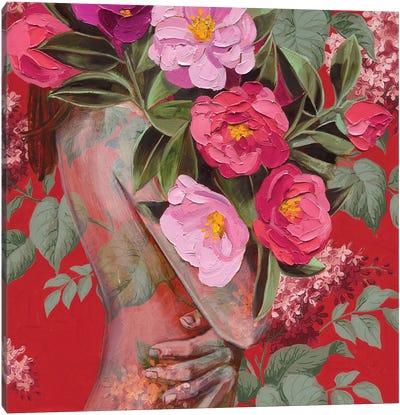 Red Splendour Canvas Art Print
