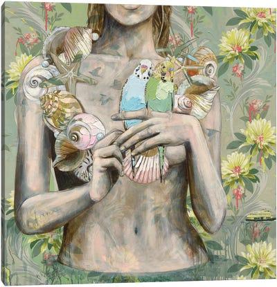 Shelly Beach Canvas Art Print