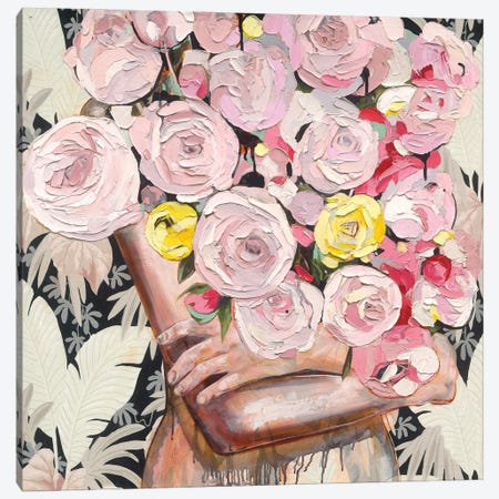 So Rosy Canvas Print #JCW23} by Jessica Watts Art Print