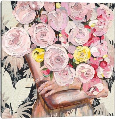 So Rosy Canvas Art Print