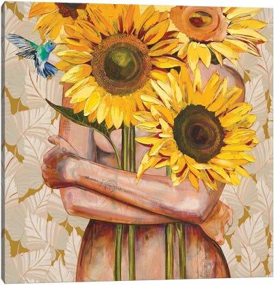 Sunshine On My Mind Canvas Art Print