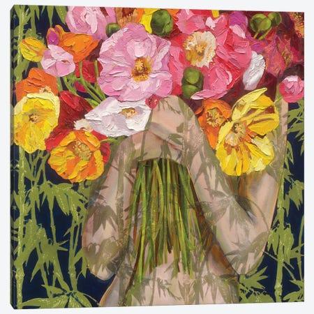 Tall Poppies Canvas Print #JCW26} by Jessica Watts Canvas Art