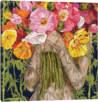 Tall Poppies Canvas Art Print