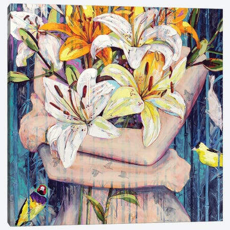 Three Hours To Sunrise Canvas Print #JCW28} by Jessica Watts Art Print