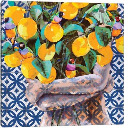 When Life Gives You Lemons Canvas Art Print