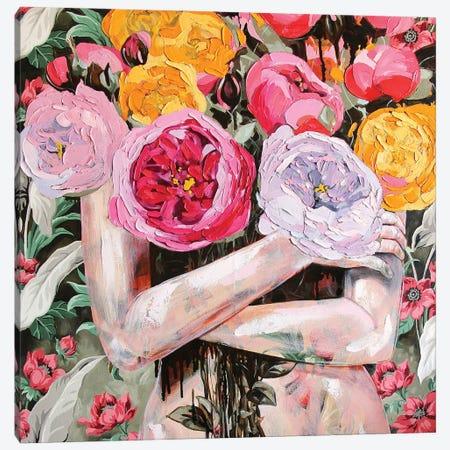 Big Glorious Burst Canvas Print #JCW5} by Jessica Watts Canvas Art Print