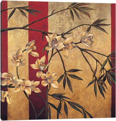 Orchid Screen Canvas Art Print