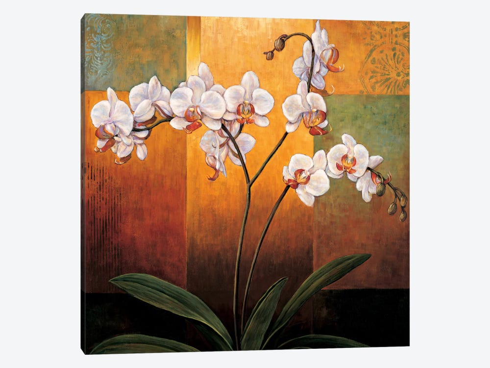 Orchids by Jill Deveraux 1-piece Canvas Artwork