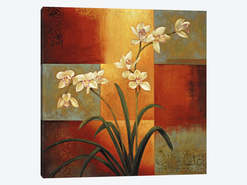 White Orchid 1-piece Art Print
