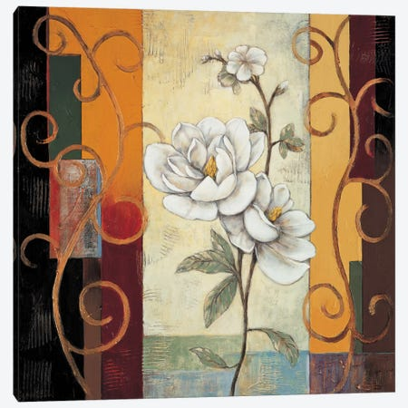 Magnolia Canvas Print #JDE8} by Jill Deveraux Canvas Wall Art