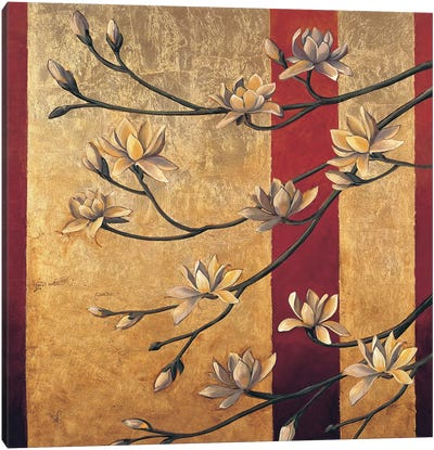 Magnolia Screen Canvas Art Print