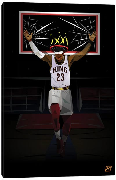 King James Canvas Art Print