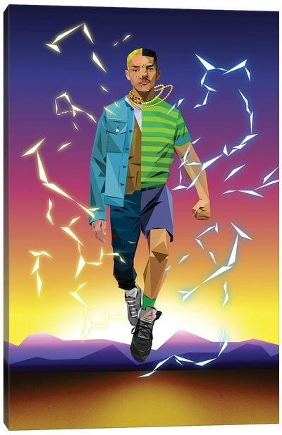 Level Up - Will And Jaden Smith Canvas Art Print