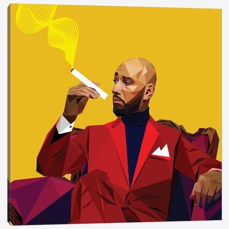 Swizz Beatz Canvas Print #JDG28} by Michael Jermaine Doughty Canvas Art