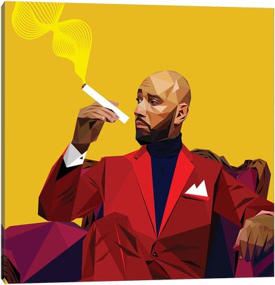 Swizz Beatz Canvas Art Print