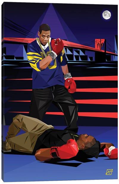 Takeover (Jay Z Vs Nas) Canvas Art Print