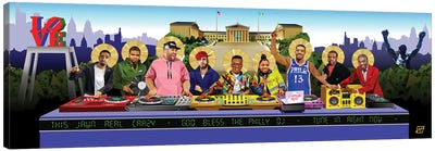 The Last Mix (Philly DJ'S) Canvas Art Print