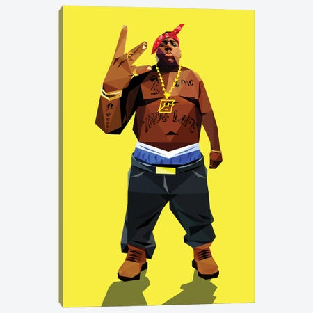 Trading Places (Biggie) Canvas Print #JDG31} by Michael Jermaine Doughty Canvas Print