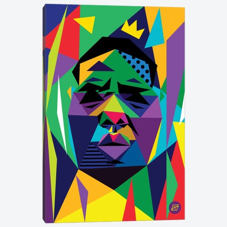 Big Face Canvas Print #JDG4} by Michael Jermaine Doughty Canvas Print