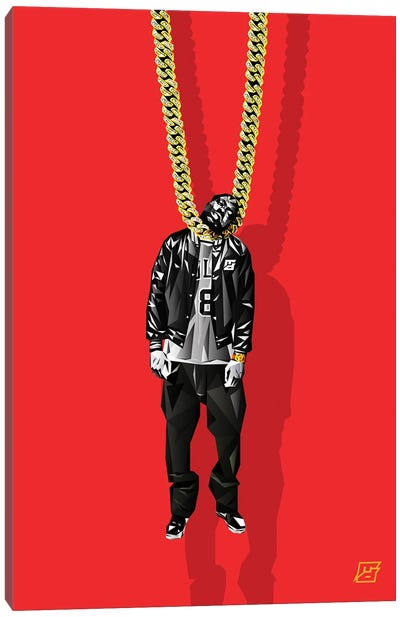 Fools Gold Canvas Art Print