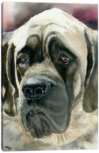Masty - English Mastiff Canvas Art Print