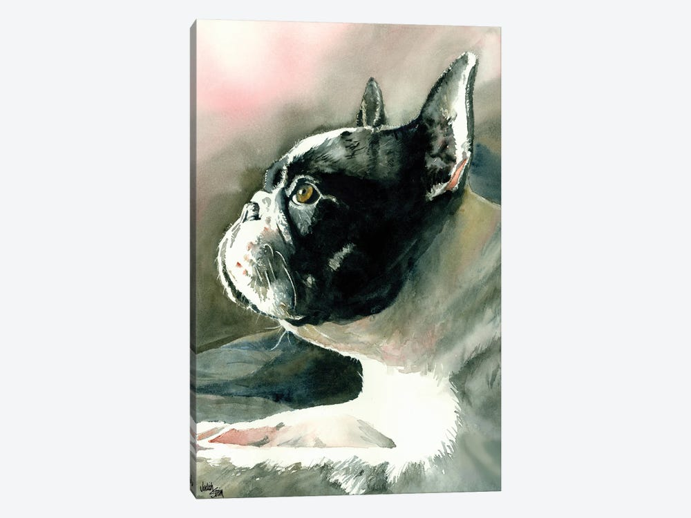 Petit Chien Vula by Judith Stein 1-piece Canvas Print