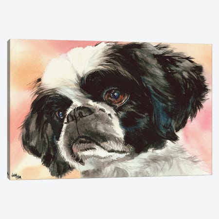 Puppy Dog Eyes - Shih Tzu 3-Piece Canvas #JDI126} by Judith Stein Canvas Art Print