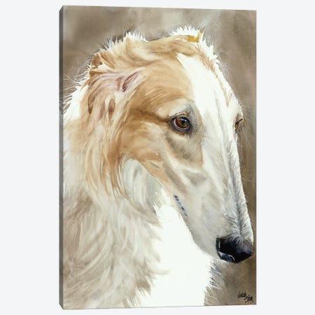 Quick Dog - Borzoi Canvas Print #JDI127} by Judith Stein Canvas Art Print