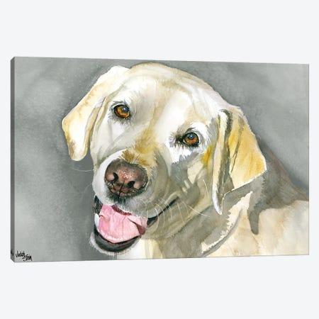 Sassy Lady - Yellow Labrador Retriever Canvas Print #JDI135} by Judith Stein Canvas Art