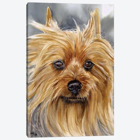 Smooth as Silk - Silky Terrier Canvas Print #JDI141} by Judith Stein Canvas Art