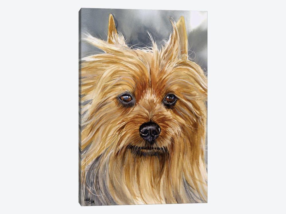 Smooth as Silk - Silky Terrier by Judith Stein 1-piece Canvas Artwork