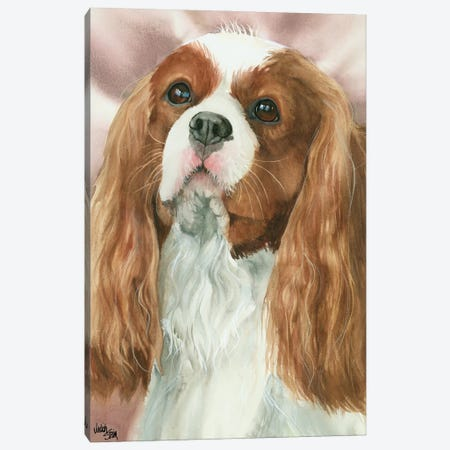 So Cavalier - Cavalier King Charles Spaniel Canvas Print #JDI143} by Judith Stein Canvas Artwork