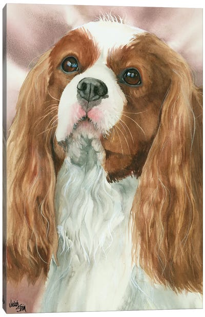 So Cavalier - Cavalier King Charles Spaniel Canvas Art Print