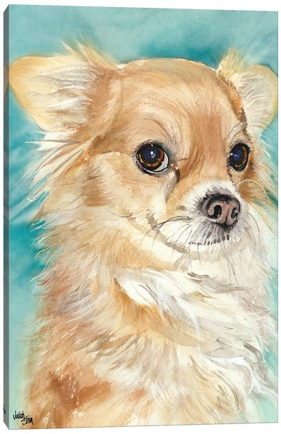 Sophie - Chihuahua Canvas Art Print