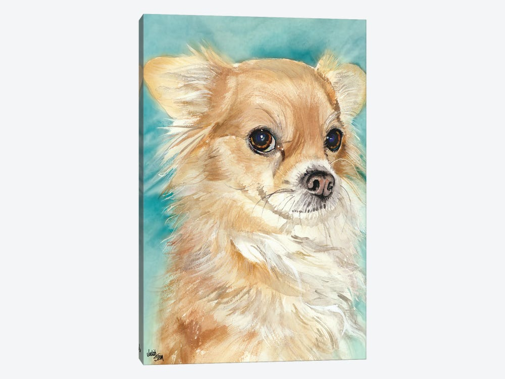 Sophie - Chihuahua by Judith Stein 1-piece Canvas Art Print